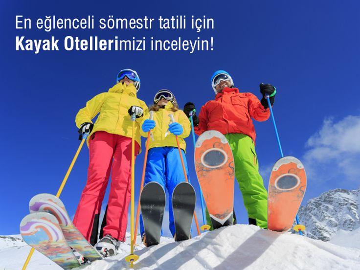 Sömestr tatilinde çocuklarınızla yapılabilecek en güzel aktivitelerden biri olan kayak için otellerimizi mutlaka inceleyin: bit.ly/MNGTurizm-somestr-kayak-otelleri-s
