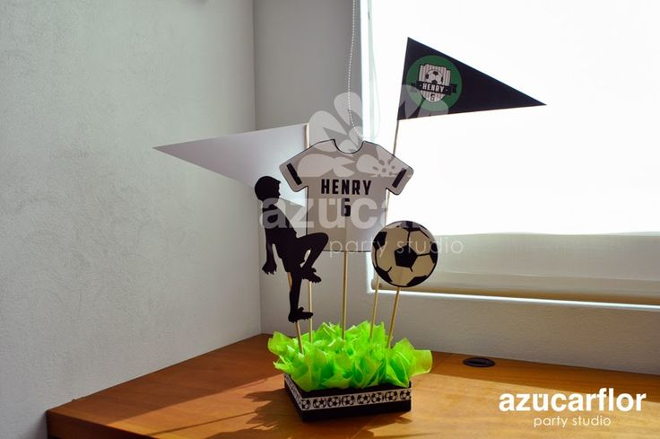 AZUCAR FLOR party studio: fútbol