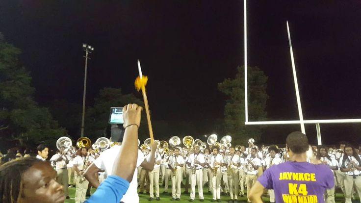Karr Landry-Walker Unity Song after football game 2015-16