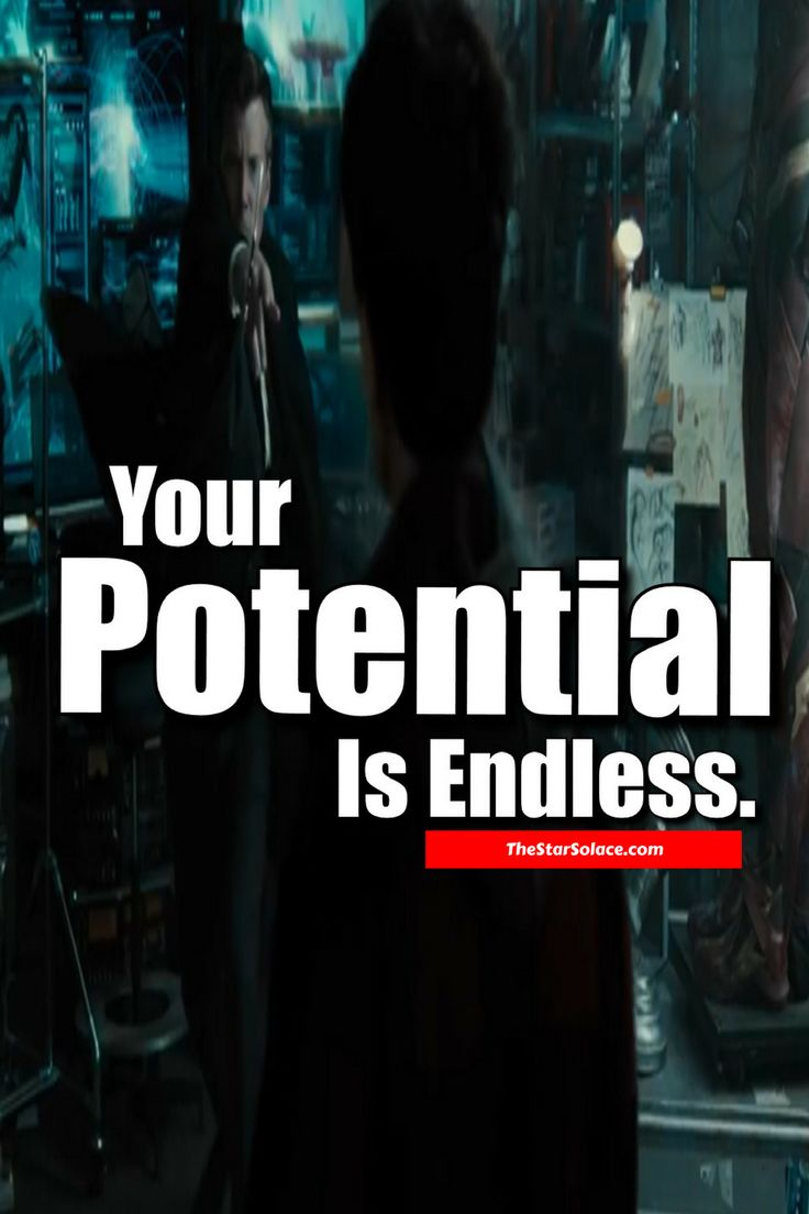YOUR POTENTIAL IS ENDLESS...star solace, life quotes, dcu movies, comics, batman, just league movie, best quotes, best quotes about life
