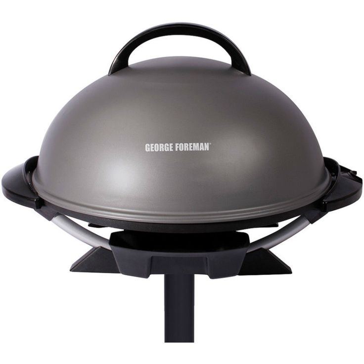 """George Foreman 240"""" Indoor Outdoor Electric Grill With Nonstick Coating On Stand #GeorgeForemanGrills"""