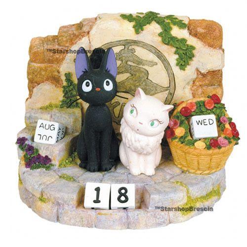 KIKI DELIVERY SERVICE - Jiji & Riri Resin Calendar Benelic - Ghibli Miyazaki