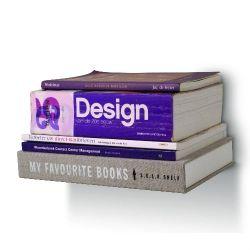 Selfshelf boekenplank.   Ontworpen door Nicole van Schouwenburg van ontwerp bureau Skylla.