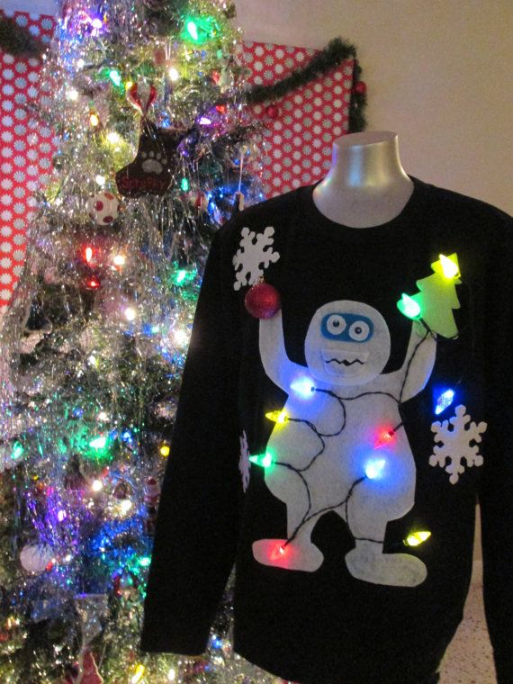 Tacky Ugly Christmas Sweater Bumbles Yeti The by THATSUGLY on Etsy |  Christmas Time | Ugly christmas sweater, Christmas sweaters, Christmas - Tacky Ugly Christmas Sweater Bumbles Yeti The By THATSUGLY On Etsy