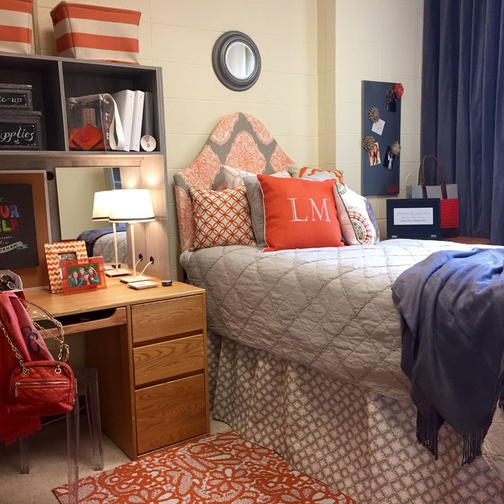 Decorating Ideas > 38 Best Images About College On Pinterest  Closet  ~ 140040_Dorm Room Ideas Grey