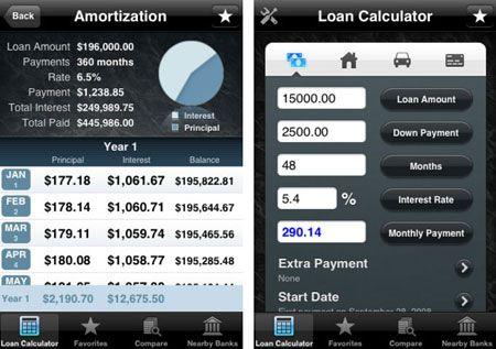 loan tracking app iphone