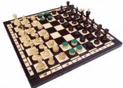 Šachy + dáma velké