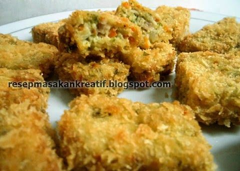 Resep Nugget Sayur   Resep Masakan Indonesia (Indonesian Food Recipes)