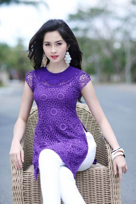 Chic Contemporary Spaces Rendered By Anh Nguyen: Ao-dai-cach-tan-dep.jpg (450×675)