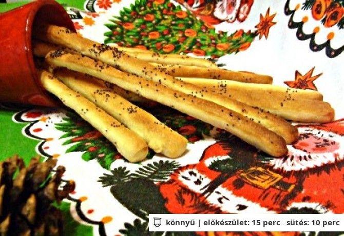 Mákos kenyérrudacskák
