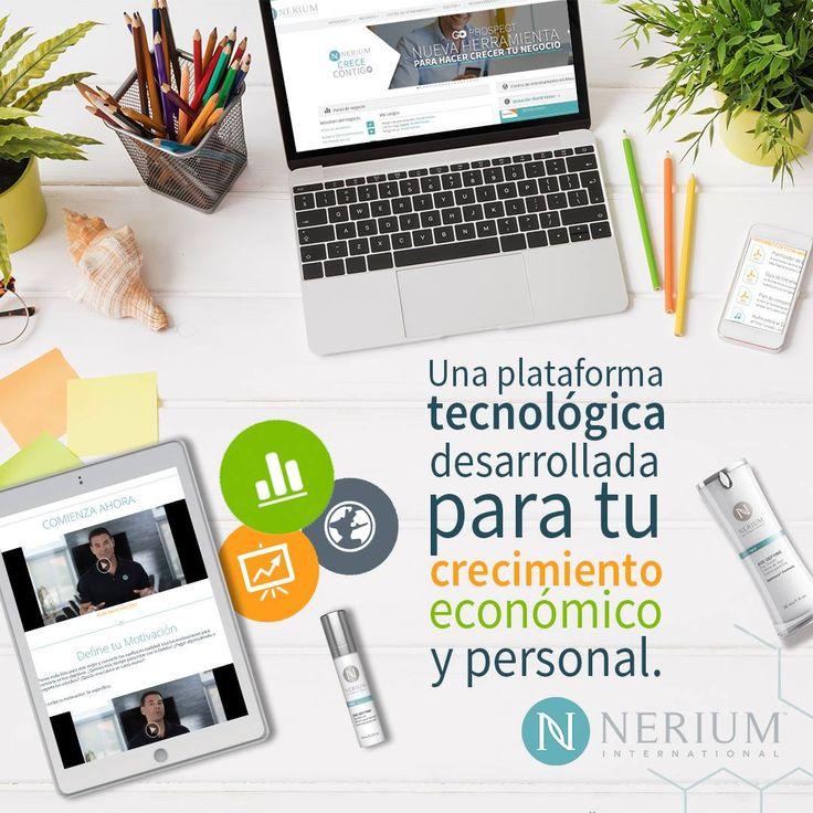 A través de nuestra plataforma tecnológica tienes la libertad de trabajar desde cualquier parte del mundo. Con herramientas de apoyo invaluables para crecer profesional y personalmente. Administras y tienes todo lo que necesitas desde tu computador, Tablet y Celular.  Regístrate como BRAND PARTNER y adquiere los productos en monicaespejo.nerium.com  Obtén el mejor precio programando tu autoenvío.  MÓNICA MARÍA ESPEJO PÉREZ BRAND PARTNER NERIUM INTERNATIONAL Cel/WhatsApp: 305 241 76 42