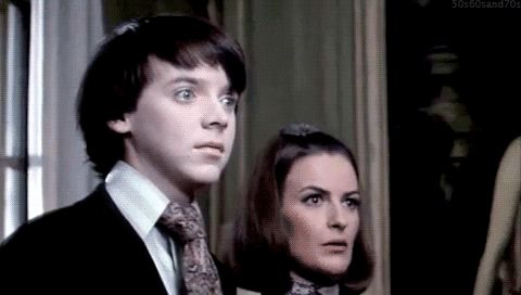 The greatest few seconds of any movie, any scene, anytime, ever, any way any how.....When Harold turns to the camera...so not allowed, and nobody can ever do this again. Bud Cort did it once and it can never be done again without falling way short with a sad head-shake to go with it. Amazing acting!