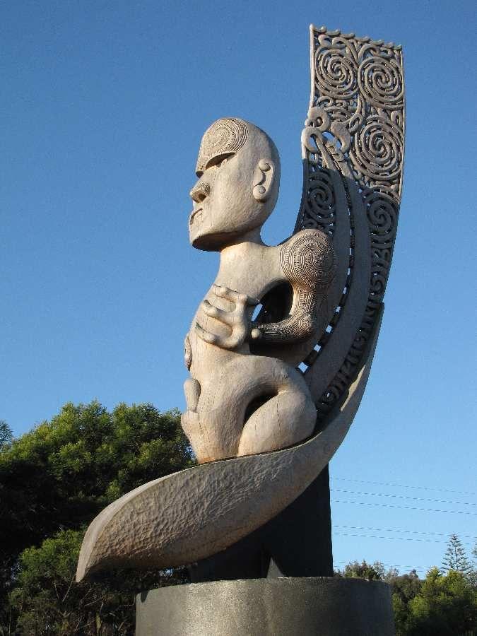 Maori Art in Auckland New Zealand Te Kawerau a Maki