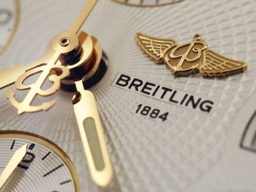 Breitling close-up.