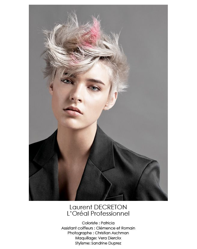 2014 spring summer hair trends L'Oreal Professionnel | Spring summer hairstyle tendencies 2014 interpreted by Jérôme Guezou ...