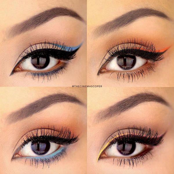 Идеальные стрелки для глаз. Фото стрелок для глаз. Виды стрелок для глаз.