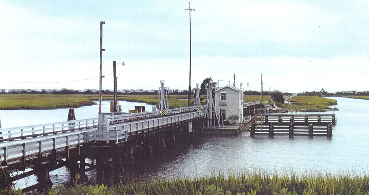 Old Draw Bridge At Sunset Beach Nc A Floating Bridge Has Linked Sunset Beach To The Mainland