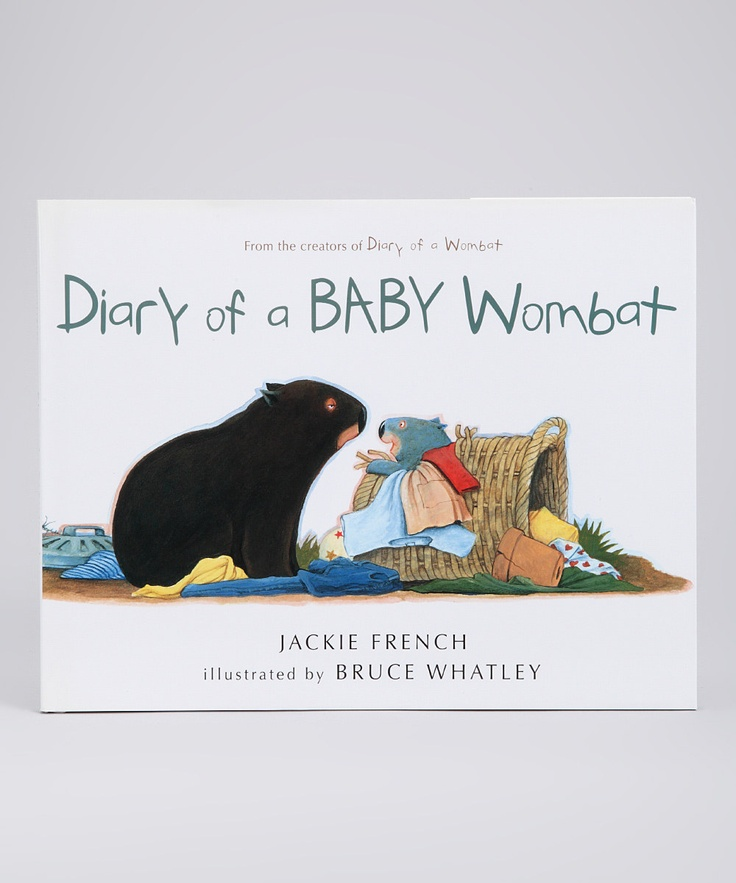 Diary of a Baby Wombat Hardcover