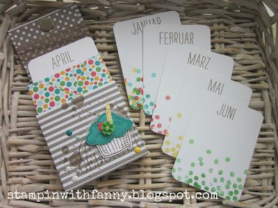 stampin with fanny: Ein Geburtstags-Mini-Album *BlogHop des Teams StampinWithFanny*