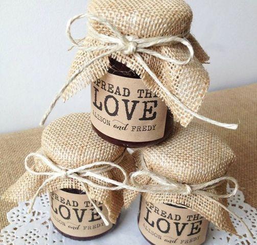 Kreative Engagement-Party-Gefälligkeiten – Wedding Decoration Rustic