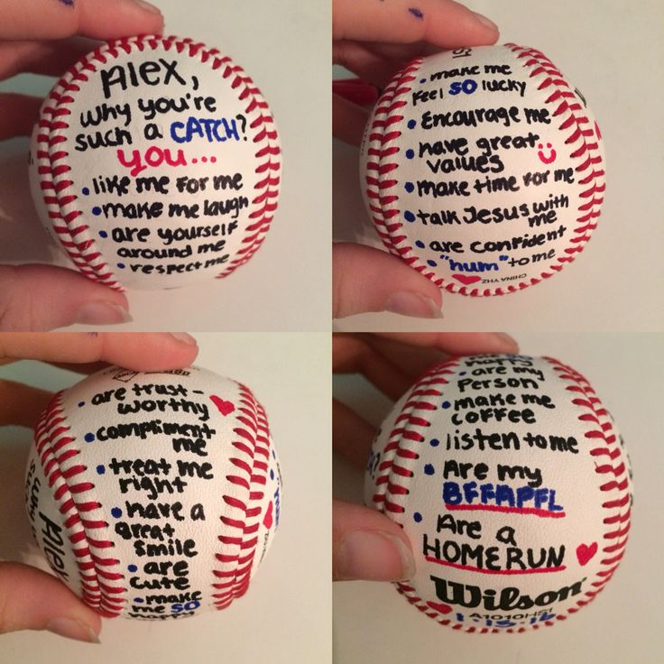 1000 ideas about baseball boyfriend gifts on pinterest for Great things to do for valentines day
