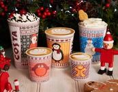 COFFEE WATCH: The Metro have a handy round-up of the Big Three's festive drinks ranges. Love the Costa Christmas cups this year, although selling a Lindt and Mint Hot Chocolate may cause confusion in-store...
