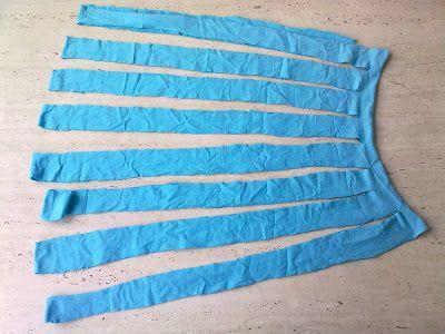 FeltroSenzaFiltro: Tutorial # 2 - Hvordan lage et skjerf med en skjorte // Hvordan lage en t-skjorte skjerf