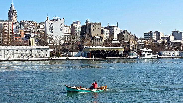 Cruising the Bosphorus Strait in a warm sunny day!