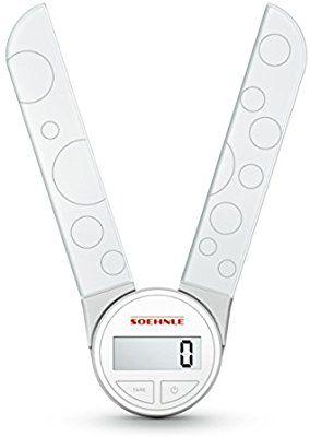 Soehnle 66226 Digitale Küchenwaage Genio white: Amazon.de: Küche & Haushalt
