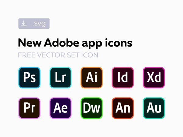 Adobe Cc Software Vector Icons Free Download Vector Icons Free Vector Icons Icon