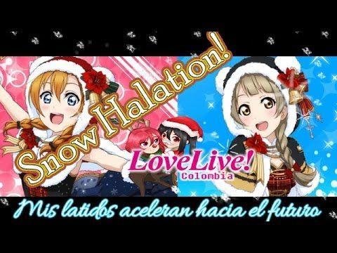 Love live- Snow Halation ♬【Subtitulos Español】- Love live Colombia-