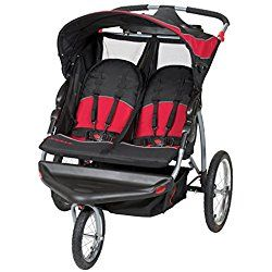 Baby Trend Expedition Double Jogger, Centennial Red