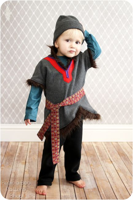 Kristoff Inspired Costume Tutorial - Don't leave out the boys in the Frozen fun! With this Kristoff inspired Costume Tutorial you'll have your little guy ready for Halloween or everyday dress-up fun in no time!