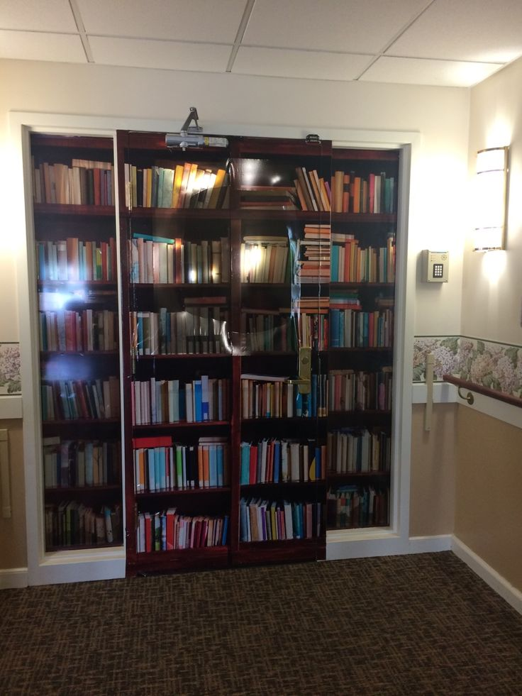 A work in progress at my dementia care community: a door ...