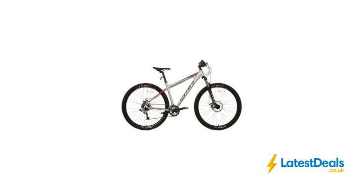 "Carrera Hellcat Mens Mountain Bike - Silver - 16"", 18"", 20"" Frames, £250 at Halfords"