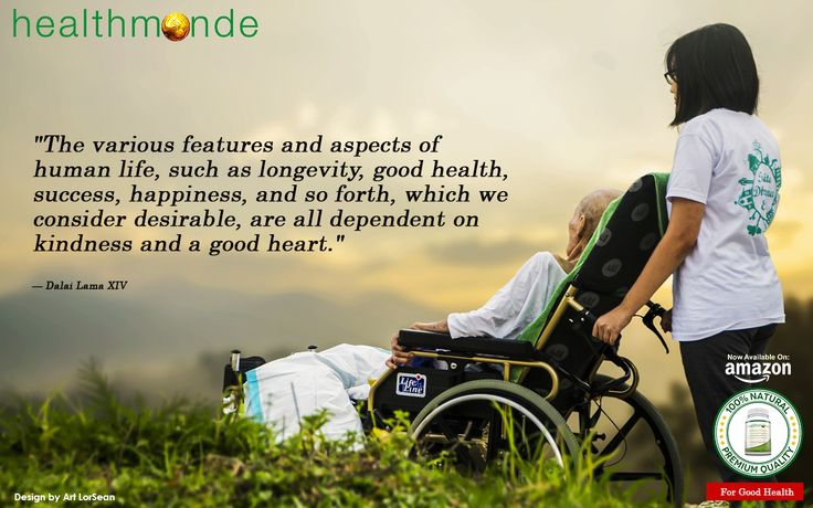 """The various features and aspects of human life, such as longevity, good health, success, happiness, and so forth, which we consider desirable, are all dependent on kindness and a good heart.""   "" Dalai Lama XIV   https://www.healthmonde.com/     AMAZON : https://www.healthmonde.com/"
