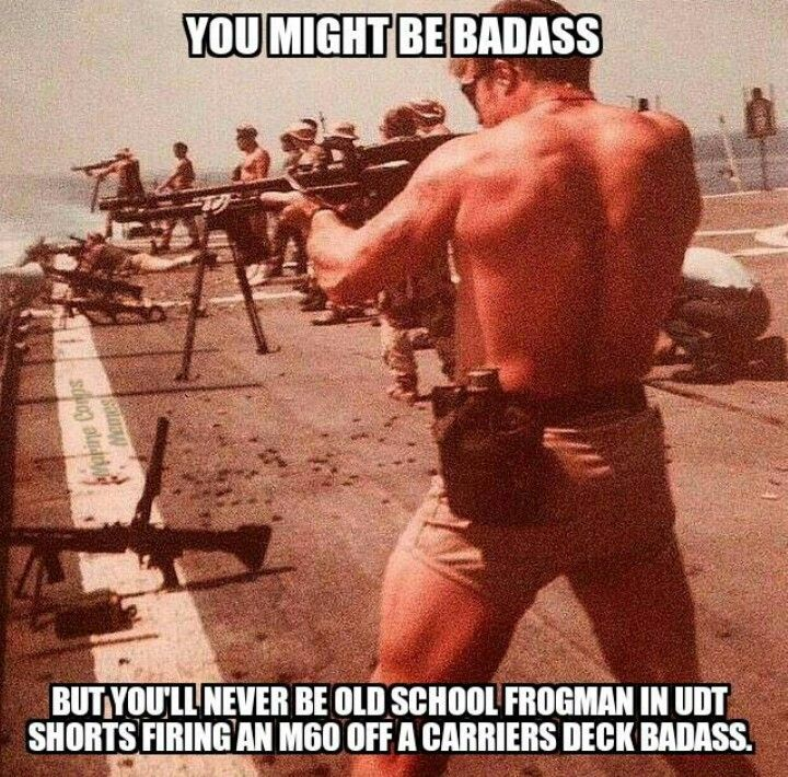 You'll never be this badass                                                                                                                                                     More