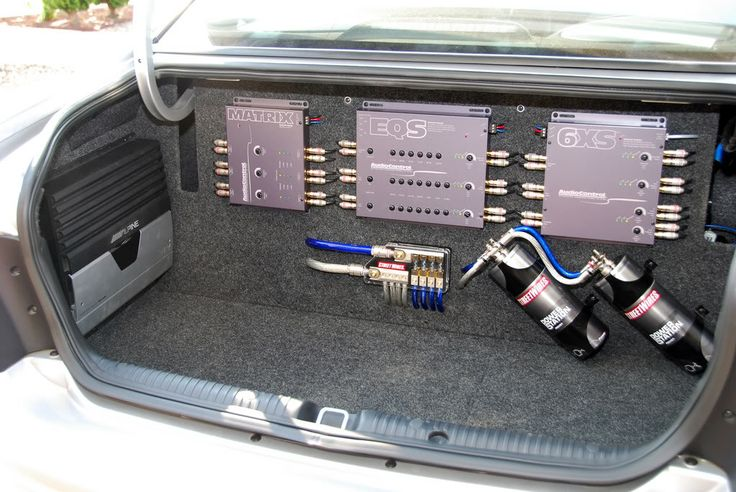 2006 Pontiac GTO Trunk setup Car Audio Custom installs