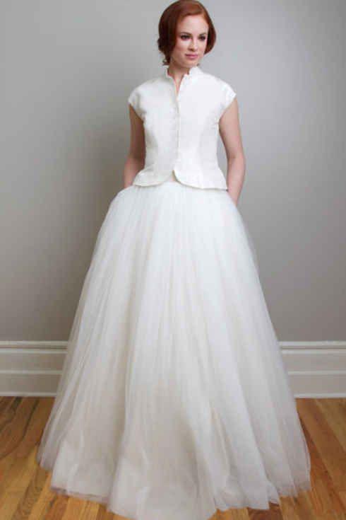 Vestidos de novia 2 piezas. Te atreves? 3