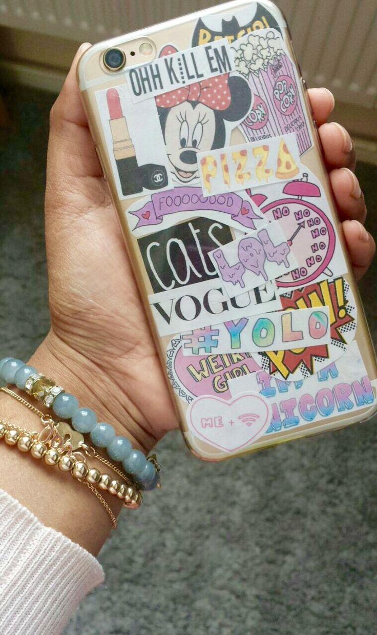 Tumblr phone case diy