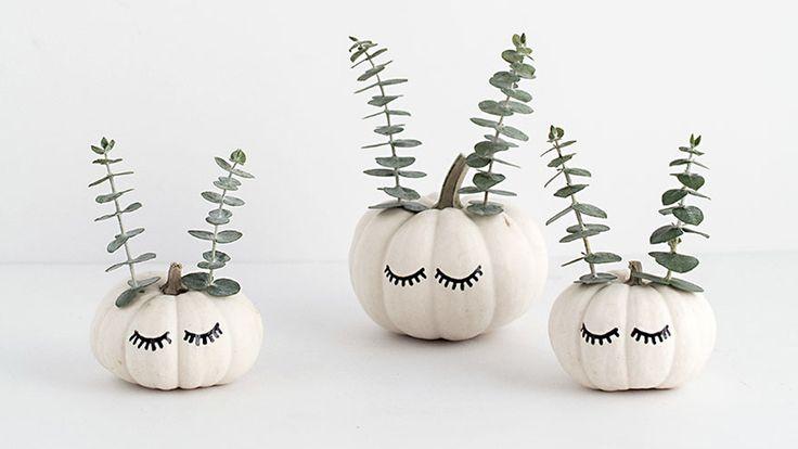 Des citrouilles DIY pour Halloween - Halloween, c'est dans quelques jours à peine et vous continuez à chercher toutes sortes d'idées créatives pour réaliser votre décoration de fête. Et bien a