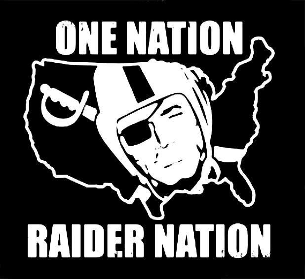 Oakland Raiders Decal Sticker Shield A1 Decals Choice