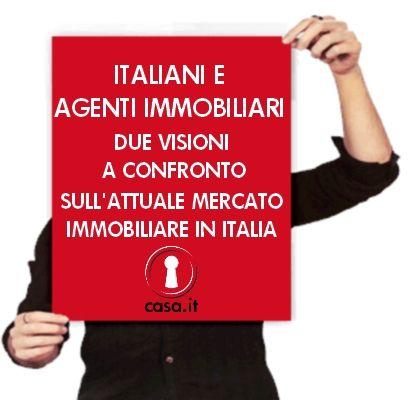 Italiani e agenti immobiliari: due visioni a confronto sull'attuale situazione del mercato immobiliare