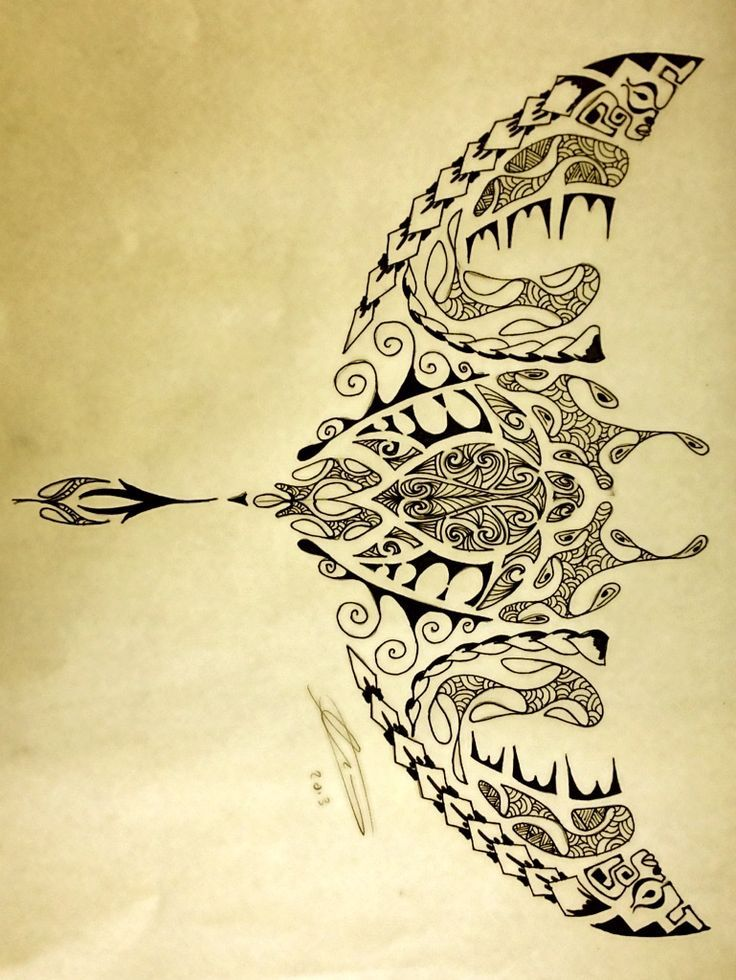 polynesian shark | Polynesian Manta Ray/Turtle by A18cey on deviantART