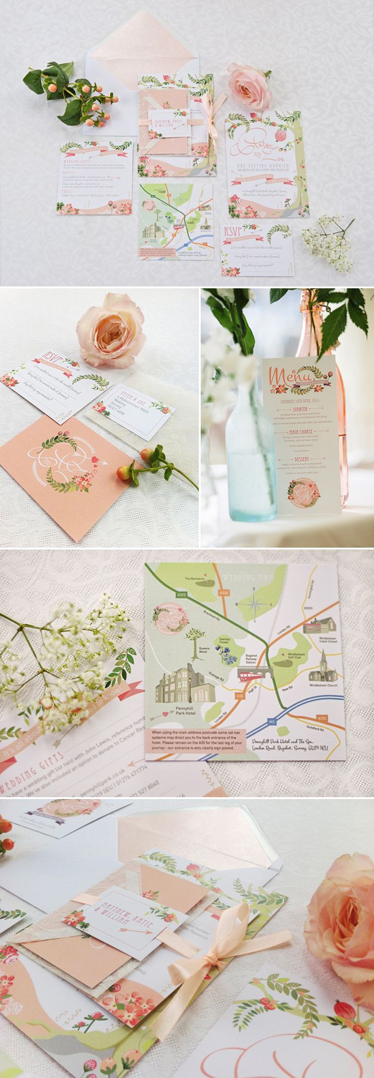 Loved by Coco… Paperknots {Award-Winning Luxury Wedding Stationery} | Style Focused Wedding Venue Directory | Coco Wedding Venues