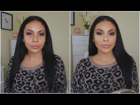 FULL COVERAGE Long Lasting Flawless Foundation Routine For Oily Skin | (Mostly Drugstore) - YouTube