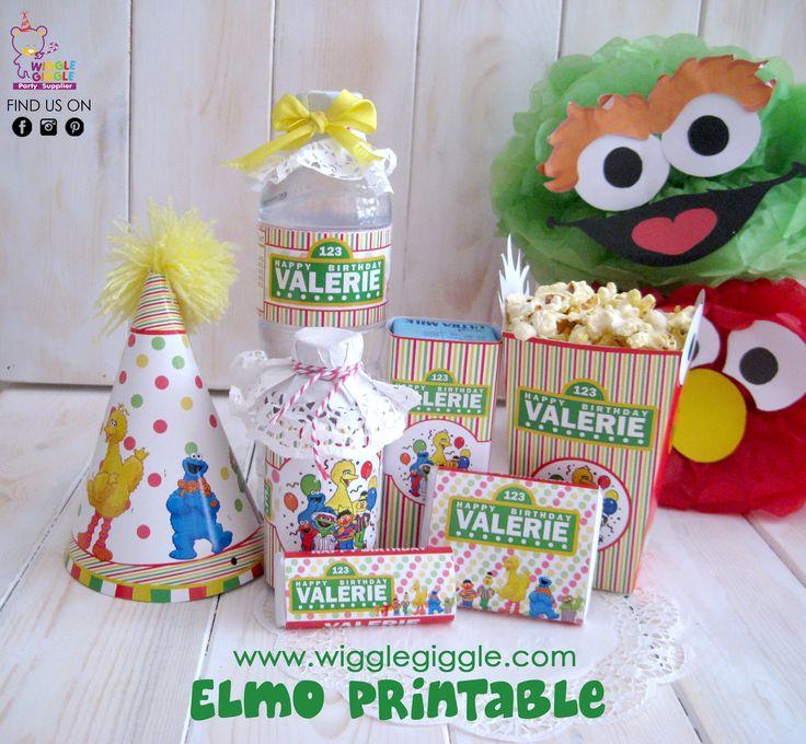 Elmo Printable. Visit us at www.wigglegiggle.com
