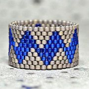 Custom Made Peyote Rings van PeyoteRings op Etsy