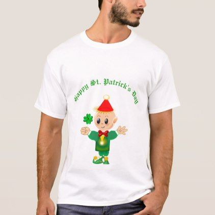 Saint Patrick's Day Elf T-Shirt - st patricks day gifts Saint Patrick's Day Saint Patrick Ireland irish holiday party