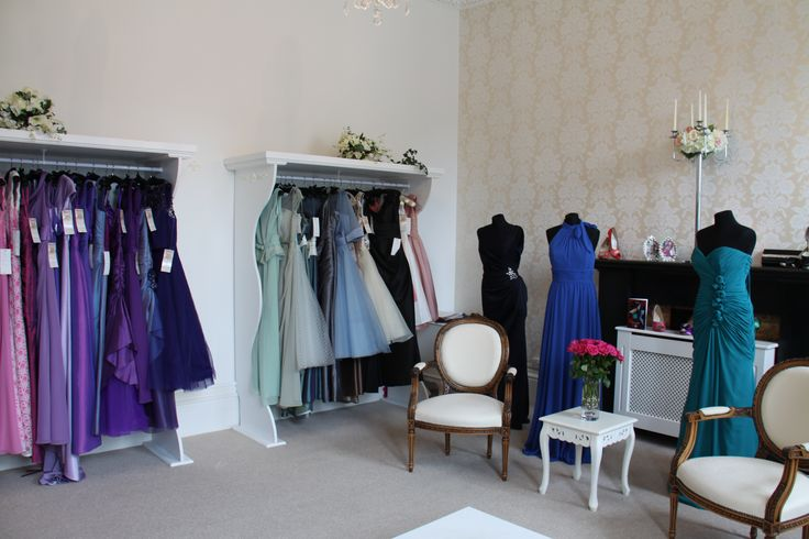 With rails of gowns from top designers bridesmaids will have plenty to choose from!